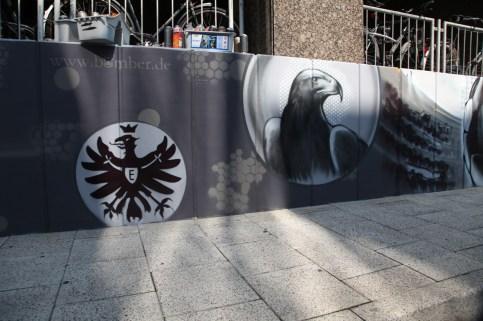Eintracht Adler Attila SGE LogoFrankfurt Fraport Terminal 1 Frankfurt International FRA 2015