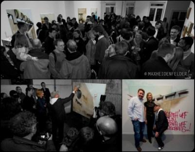 Kooperation Natalie Goller/Bomber, Galerie Jens Fehring, 2009 © Max Heidenfelder