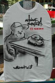 Autohaus Berolina. Live Street Art Airbrushing für SEAT © SONY Center Potsdamer Platz, 2012