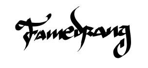 Famedrang Corporate Logo design 2017