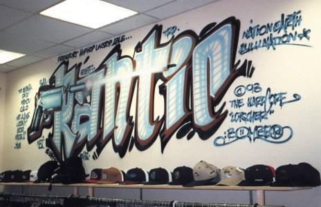 Frantic Hip Hop Store, Frankfurt 1993