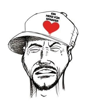 Hip Hop Baseballcap »Ein Herz für Sprayer« 2015