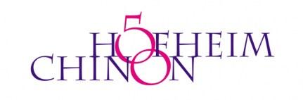 50 Jahre Hofheim-Chinon Corporate Logo design 2015