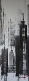 Skyline 30 x 120 cm, 2018