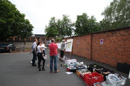 Graffiti Urban Art Spray Workshop Patrizia AG, Klassikstadt Frankfurt, 2019
