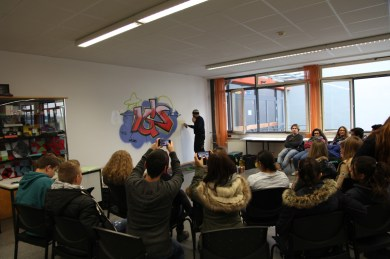 IGS Mainspitze Vortrag/Präsentation 2014