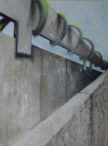 Wallbreaker. Kooperation Natalie Goller/Bomber, Galerie Jens Fehring, 2009