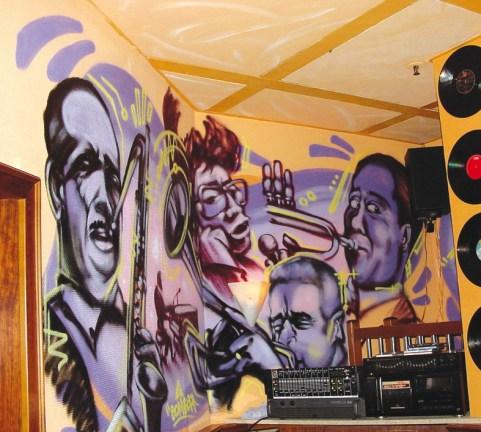 Bar New Morning Kings n Queens of Jazz, 2003 Frankfurt