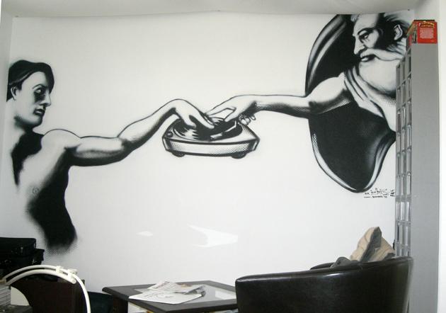 God is a DJ Motiv, Studio Erick Decks, Frankfurt