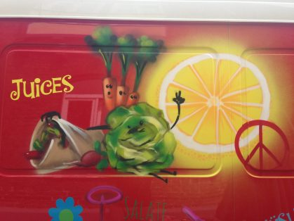 Foodtruck Juices & more, 2016