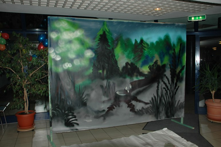Landschaft, Bühnendekoration, CCM Carnevals Club Mainperle 2011, Okriftel
