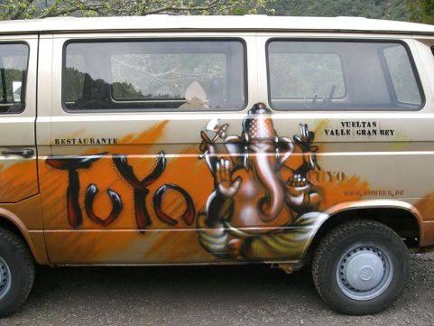 Tuyo VW Bus Bulli T3, Gomera, Spain 2006