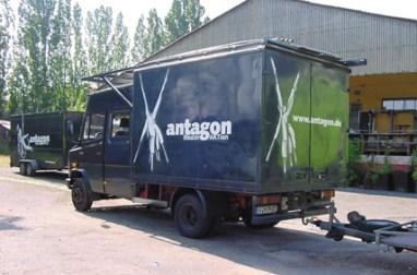 Antagon Cartattoo fleeddesign, flottendesign 2005