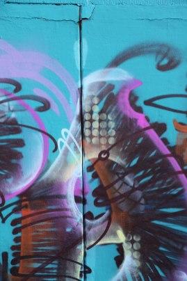 Letter A Graffiti art 2015