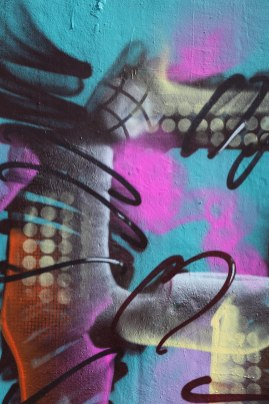 Letter F Graffiti art 2015