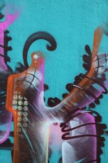 Letter K Graffiti art 2015