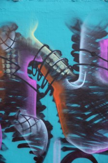 Letter N Graffiti art 2015