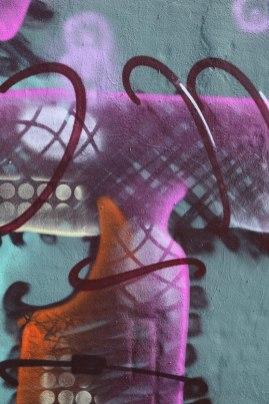 Letter T Graffiti art 2015