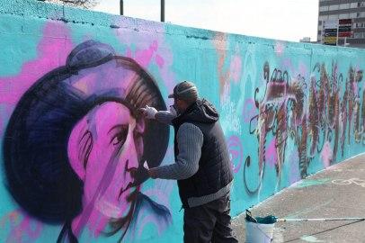 Painting Goethe & Frankfurt 2015