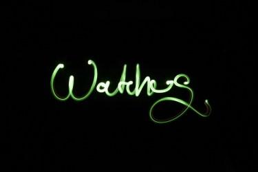 Watches. Für Aumann und Hochmuth Design erstellte Lichtmalereien für Backgrounds des Katalogs von Thomas Sabo. Foto Matthias Müller BFF, Club NuSoul in Frankfurt 2010