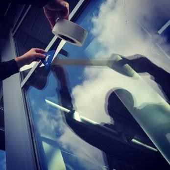 Tape Art Audi e-tron © Musti Enzmann