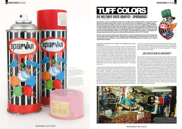 Tuff Colors Street Love Magazin
