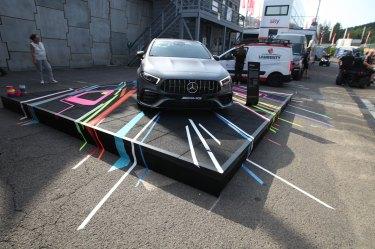 Tape Art 4 AMG-Mercedes, Spa, Belgien/Belgique, 24h race