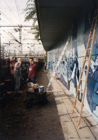Cemnoz & Cantwo @ Paris Gare du Nord 1994