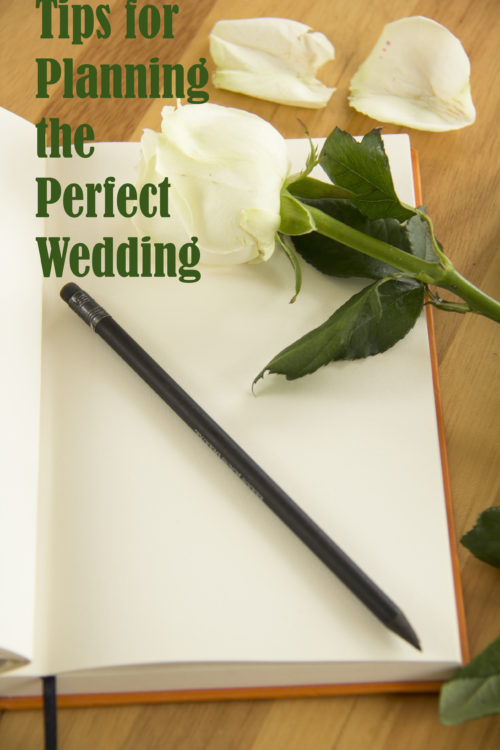 tips for planning the perfect wedding