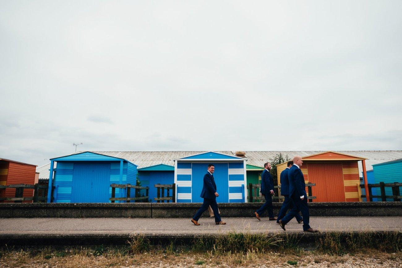 Whitstable seaside wedding photography