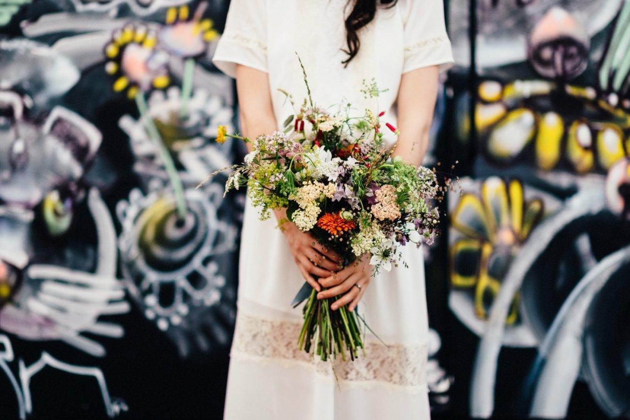 London Bride wearing Minna BABB Photo