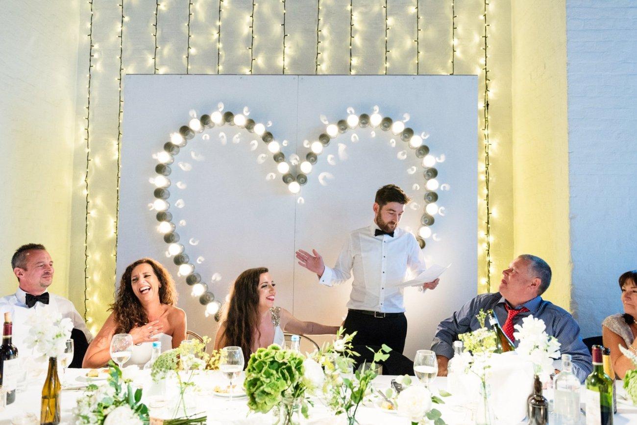 Quirky London wedding