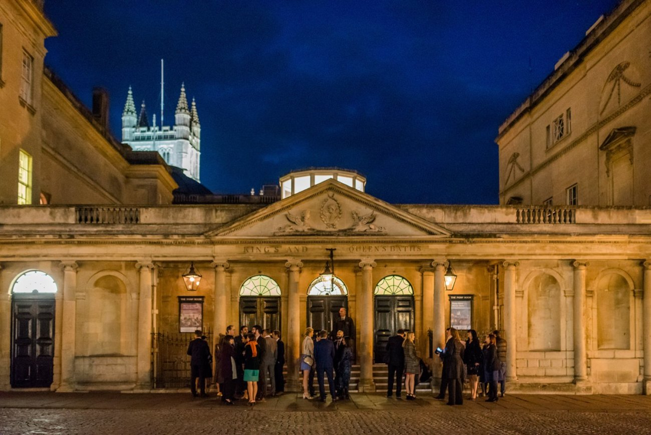 Roman Bath, Somerset creative wedding photography