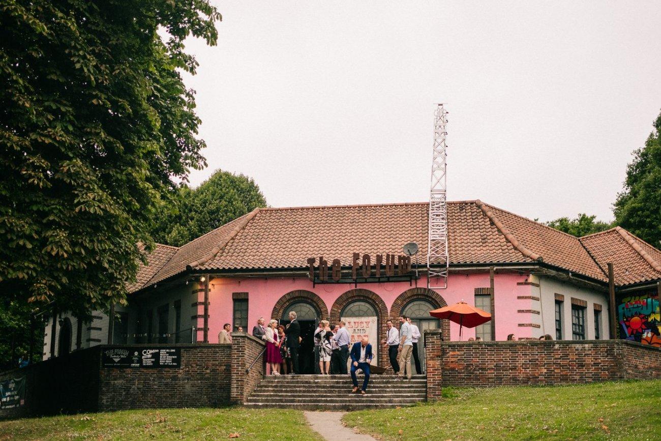 Alternative rock venue wedding kent