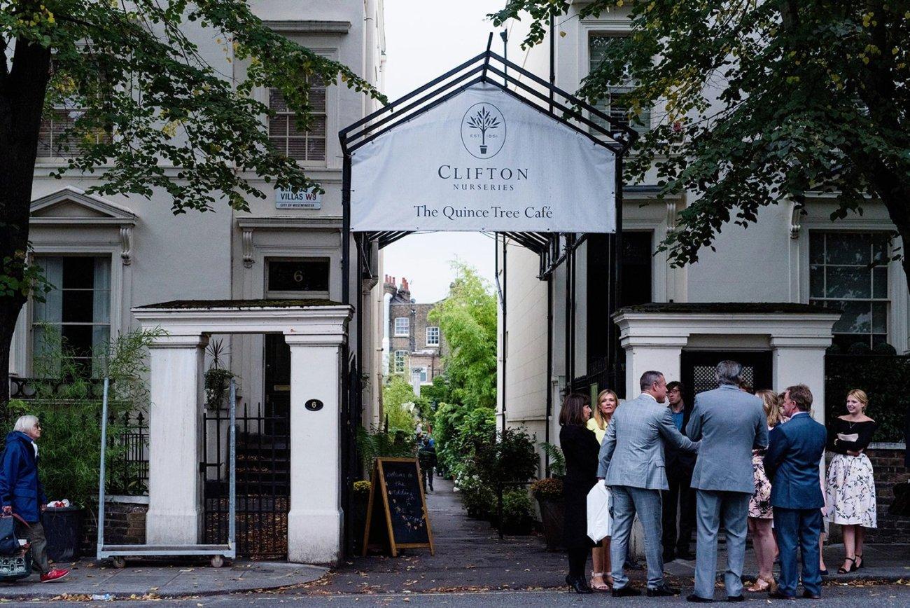 West London wedding The Amadeus and Clifton Nurseries