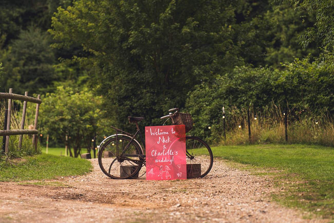 Vintage bike wedding detail keeper and the dell norfolk