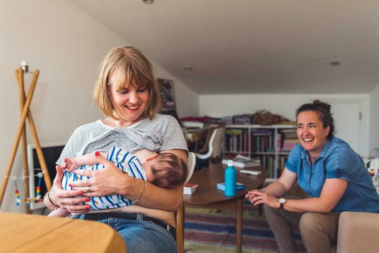 breast feeding mama family photo birmingham
