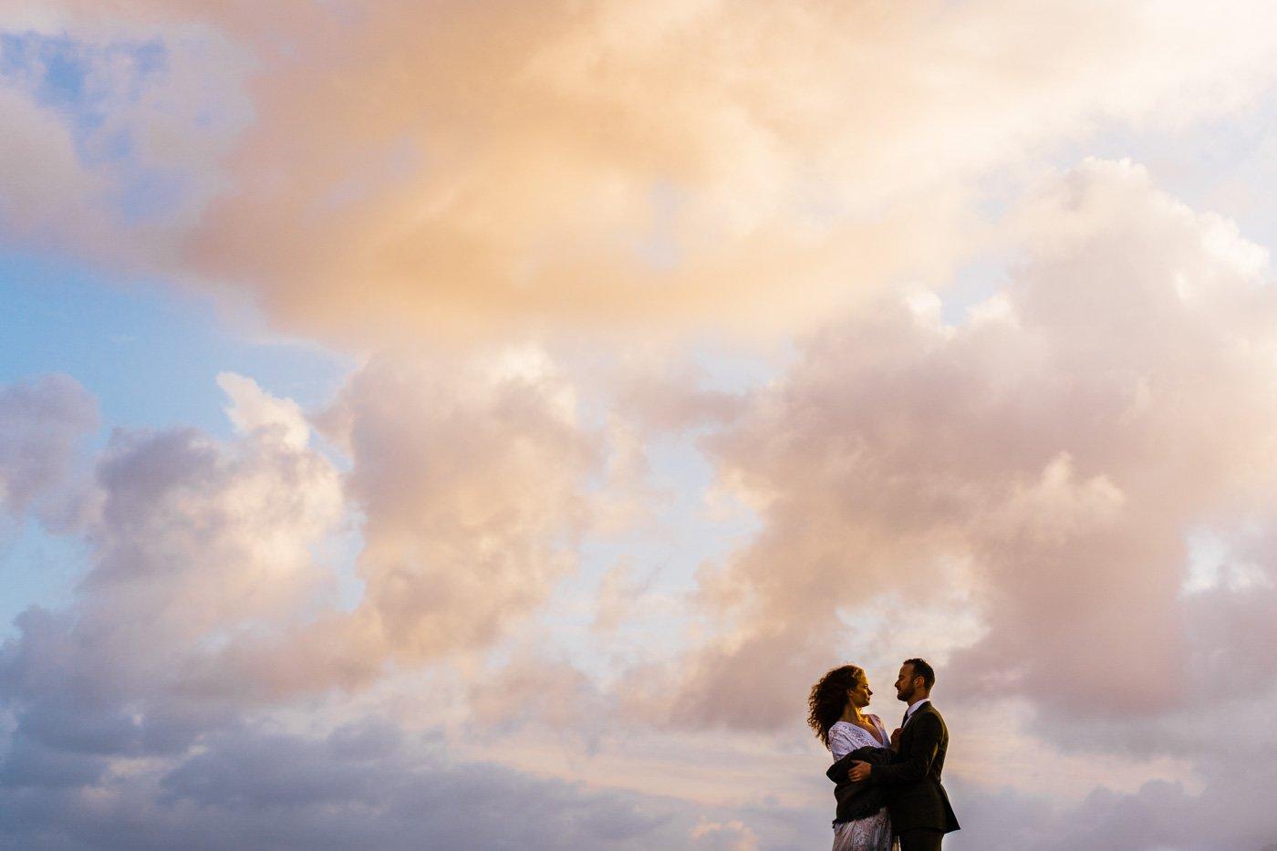 Beach editorial bridal shoot Donegal
