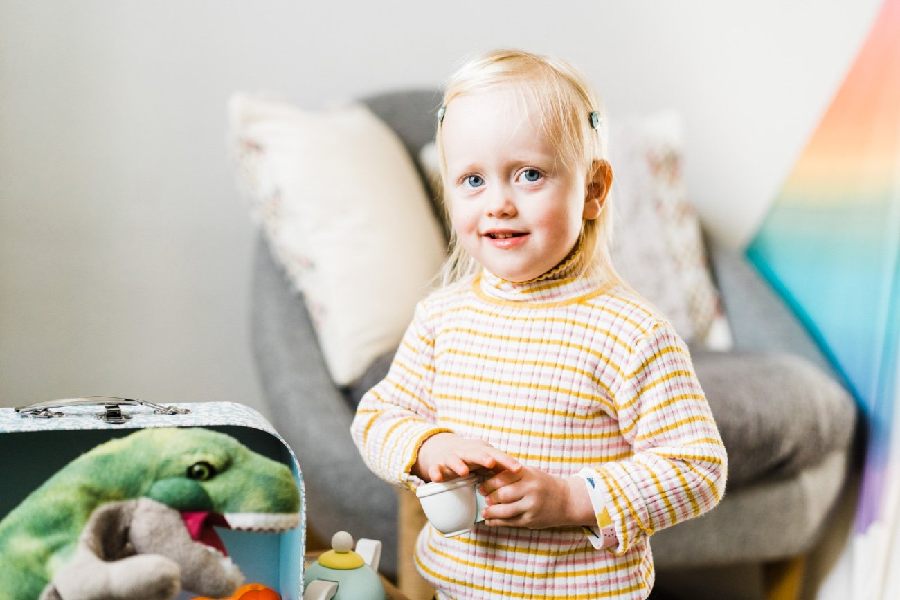Documentary image of small child
