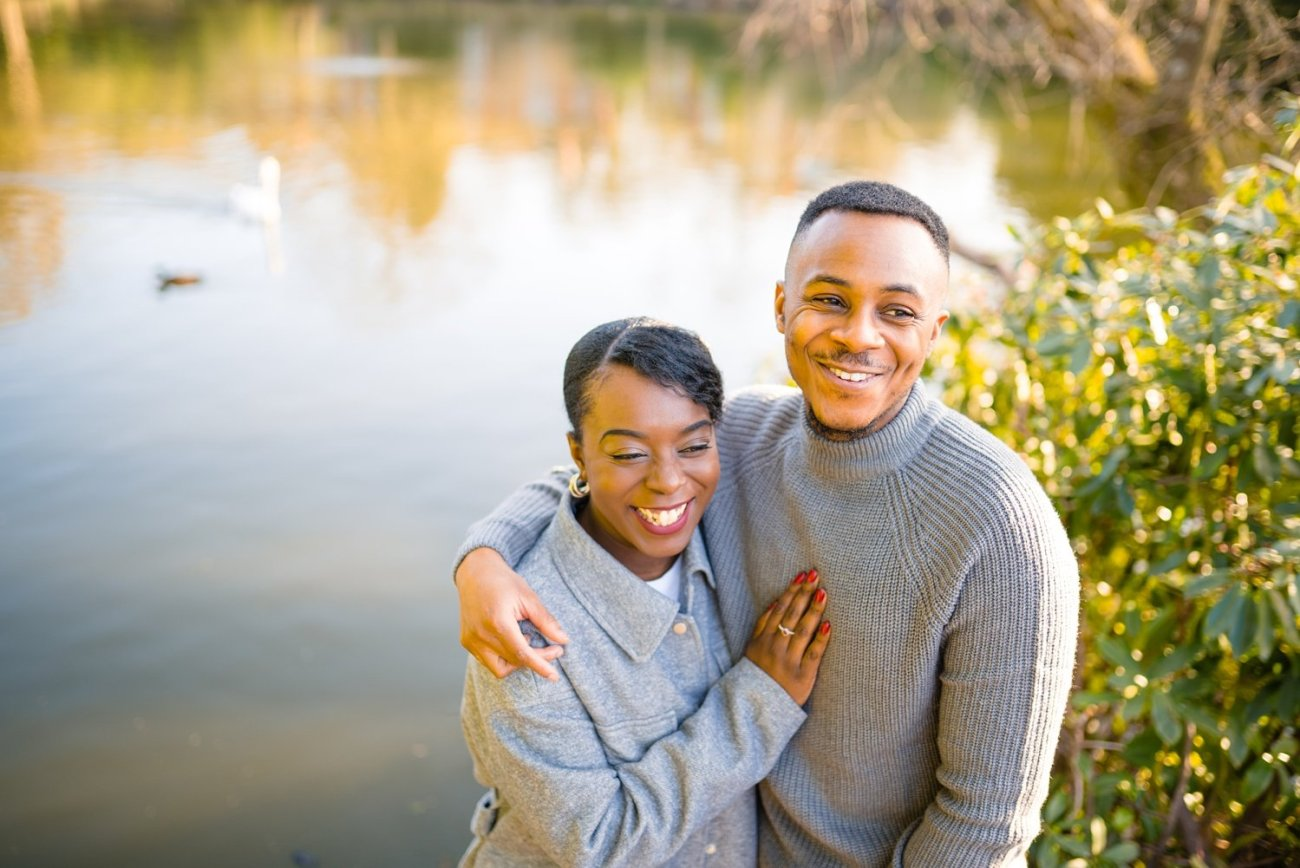Moseley Park Engagement Photography