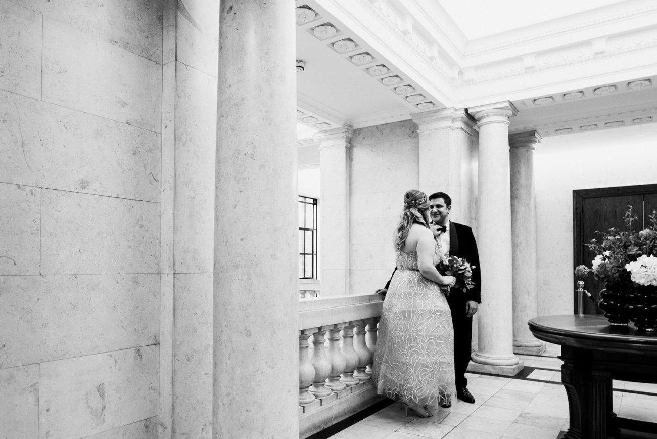 Intimate London Wedding Photos