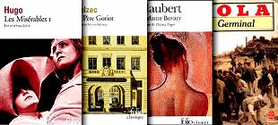 les grands romans francais du 19eme