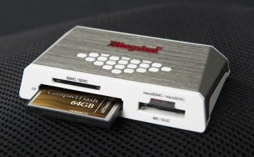 Kingston Releases 4th-Gen Media Reader & 64GB 600X CF Card