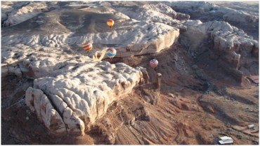 Playing on the Rocks – it's more than hot air