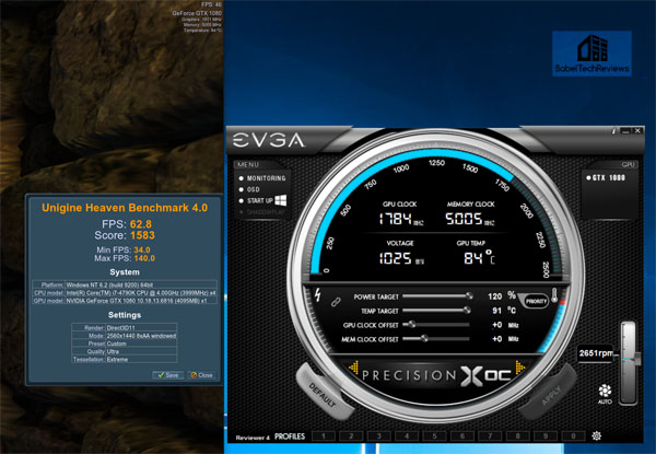 Overclocking the GTX 1080 with Precision XOC - BabelTechReviews