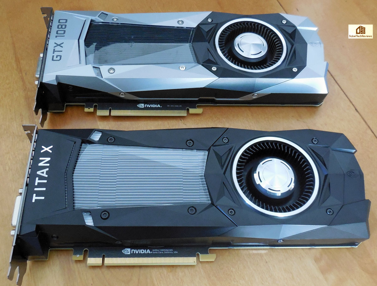 The TITAN X vs  the GTX 1080 - 25 Games tested at 4K, 2K