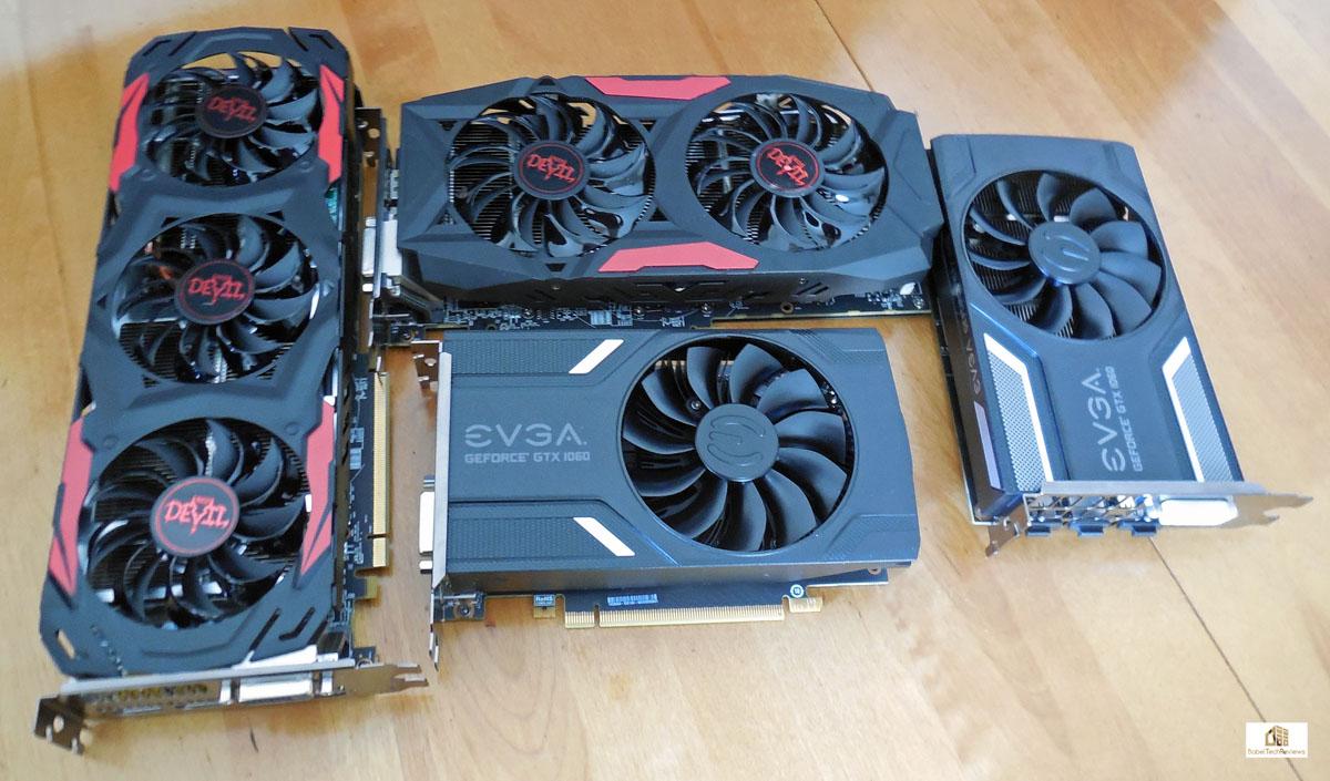 The EVGA GTX 1060 3GB vs  the Red Devil RX 470
