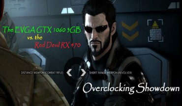 Overclocking Showdown – the EVGA GTX 1060 3GB vs. the Red Devil RX 470