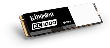 Kingston Introduces KC1000 NVMe PCIe SSD