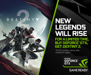 GeForce GTX Destiny 2 Bundle plus Graphics & Performance Guide Released